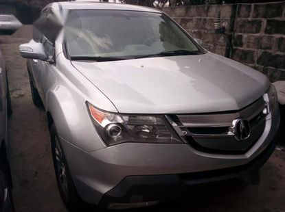 Tokunbo Acura MDX 2008 Silver for sale