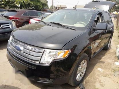Selling black 2007 Ford Edge in Lagos