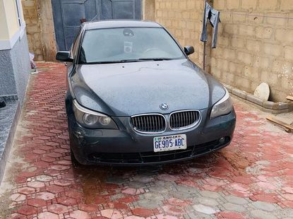 Grey 2007 BMW 530i at mileage 117,000 for sale