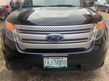 Black 2012 Ford Explorer automatic at mileage 12,845 for sale