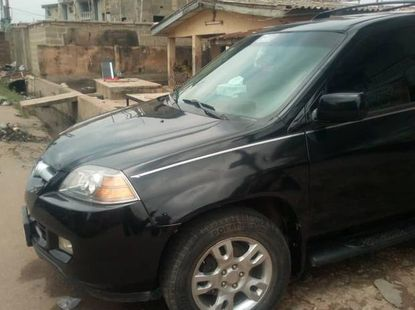 Sell well kept black 2005 Acura MDX suv automatic in Lagos