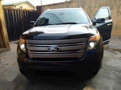 Ford Explorer 2013 Black for sale