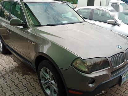 BMW X3 2007 Gold for sale