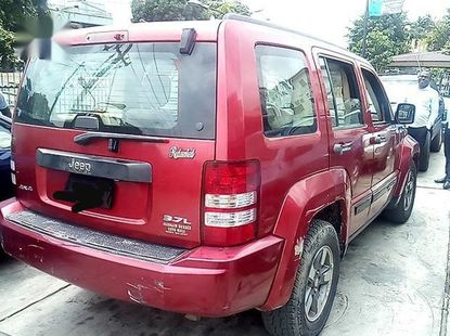 Jeep Liberty Limited 4x4 2008 Red for sale