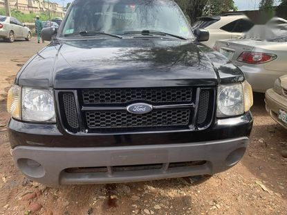 Well maintained black 2003 Ford Explorer automatic for sale in Lagos