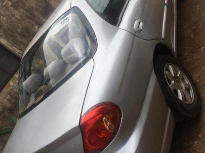 Clean grey 2002 Kia Sephia automatic car at attractive price