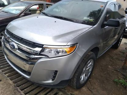 Very sharp neat grey 2012 Ford Edge automatic for sale