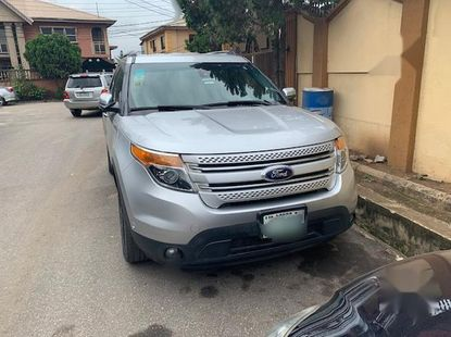 Ford Explorer 2013 Silver for sale