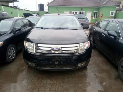 Authentic brown 2008 Ford Edge automatic in good condition