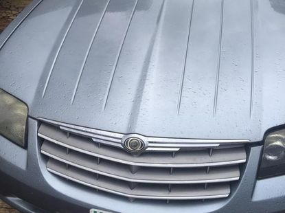 Chrysler Crossfire 2006 Silver for sale