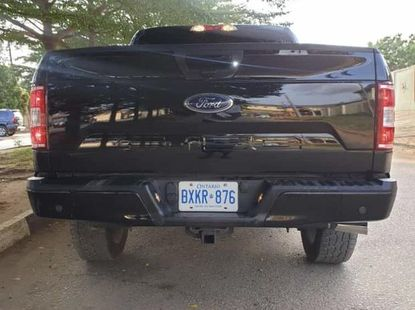 Ford F-150 2018 Black for sale