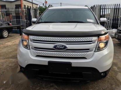Ford Explorer 2012 White for sale