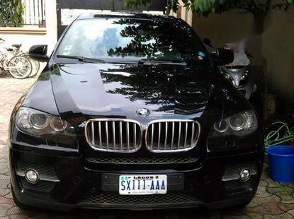 Sell well kept black 2010 BMW X6 sedan at price ₦6,200,000