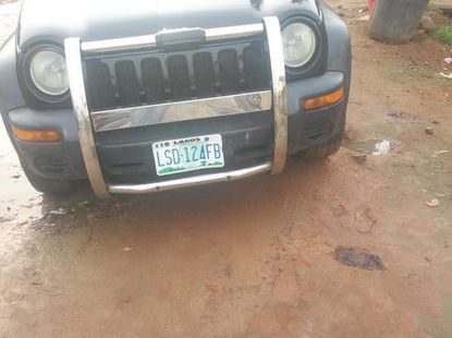 Sell well kept black 2003 Jeep Liberty automatic at mileage 130