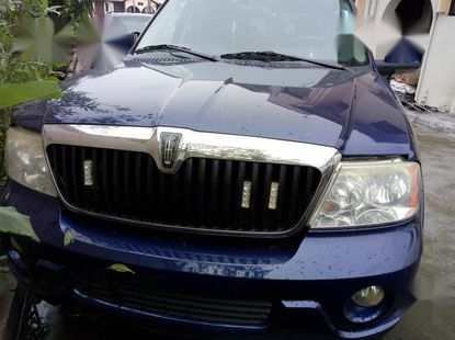 Lincoln Navigator 2006 4x4 Luxury Blue for sale