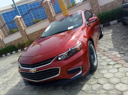 Used red 2016 Chevrolet Malibu automatic for sale at price ₦12,000,000