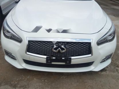 Well maintained 2014 Infiniti Q50 sedan automatic for sale in Lagos