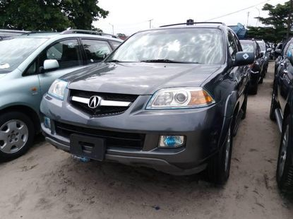Authentic grey 2006 Acura MDX automatic in good condition