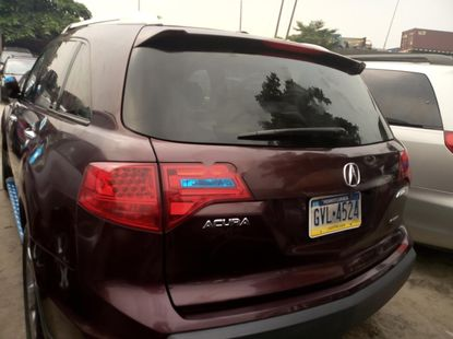 Best priced used brown 2008 Acura MDX automatic in Lagos
