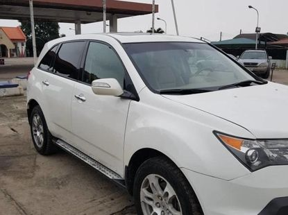 Used white 2008 Acura MDX automatic car at attractive price