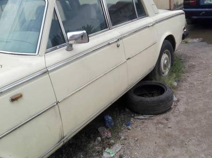 Used 1982 Rolls-Royce Silver car automatic at attractive price in Ikeja