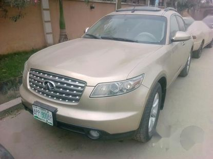 Sell neatly used 2004 Infiniti FX at mileage 92,000
