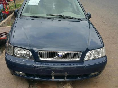 Blue 2004 Volvo S40 car automatic at attractive price in Ibadan