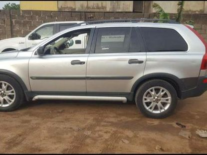 Volvo XC90 2005 Silver for sale