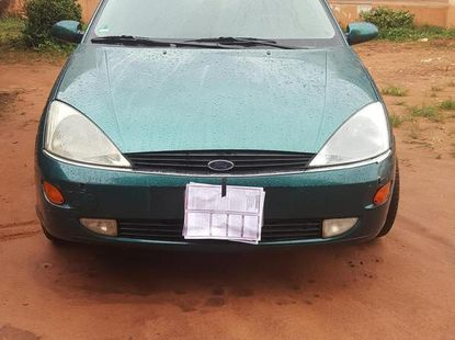 Well maintained green 2006 Ford Focus automatic for sale at price ₦750,000