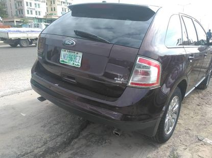 Brown 2010 Ford Edge suv / crossover for sale at price ₦1,950,000 in Lagos