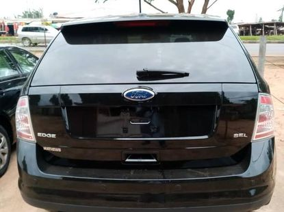 Best priced black 2009 Ford Edge suv  automatic in Lagos