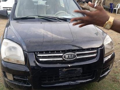 Used 2005 Kia Sportage car automatic at attractive price in Lagos
