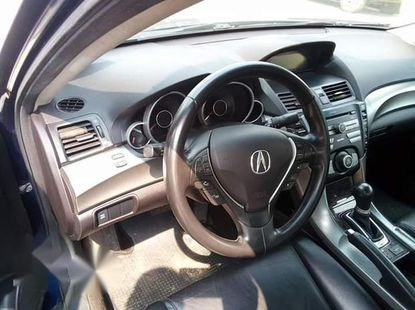 Used blue 2009 Acura TL automatic at mileage 89,000 for sale