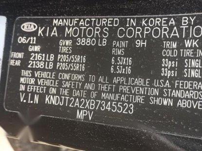 Sell black 2011 Kia Soul automatic at cheap price