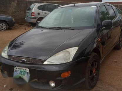 Sell well kept black 2003 Ford Focus suv manual in Ibadan