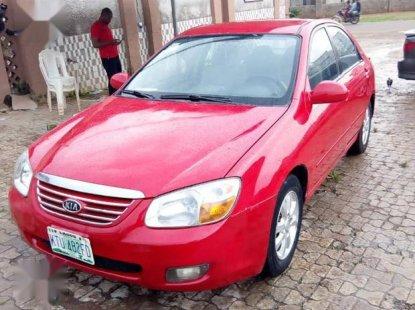 Used red 2007 Kia Cerato automatic at mileage 180,000 for sale
