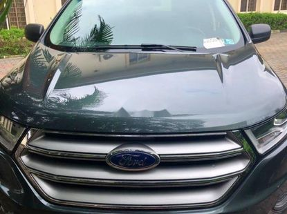 Used black 2015 Ford Edge automatic for sale