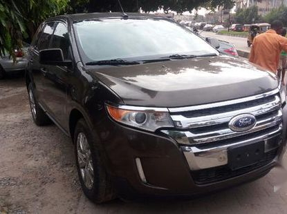 Used brown 2011 Ford Edge automatic for sale at price ₦5,500,000