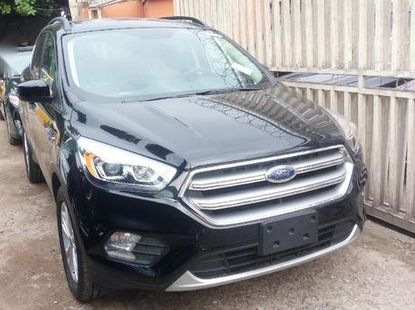 Sell black 2017 Ford Escape automatic in Lagos