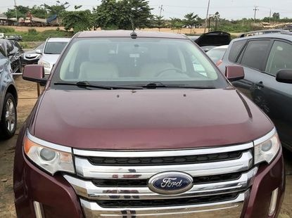 Clean Tokunbo Ford Edge 2012 Red