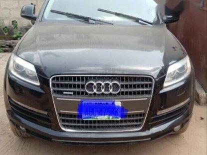 Very Clean Nigerian used Audi Q7 2007 3.6 Black