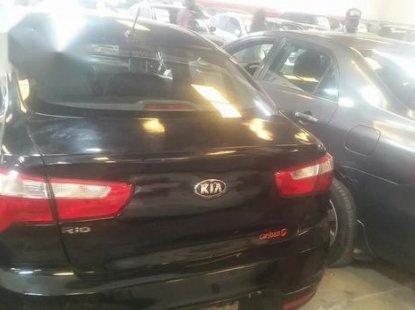 Neat Nigerian used Kia Rio 2013 Black