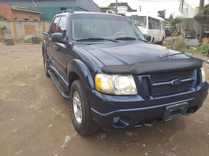 Neat Foreign used Ford Explorer Sport Track Automatic 2005 Blue