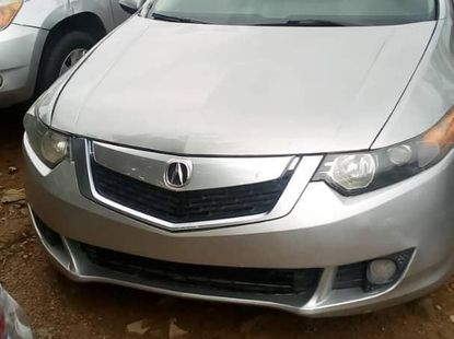 Clean Tokumbo Acura TSX 2009 Automatic Silver