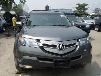 Very Clean Foreign used Acura MDX 2008 Gray