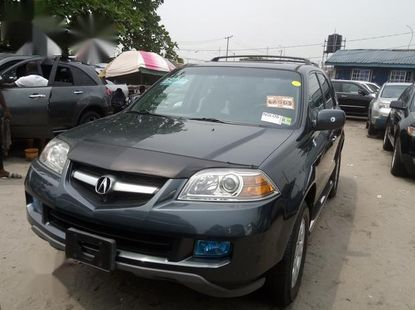 Neat Foreign used Acura MDX 2005 Gray