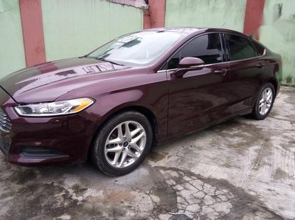 Clean Tokunbo Ford Fusion 2013 SE Red