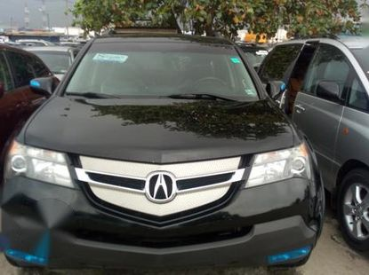 Neat Foreign used Acura MDX 2008 Black