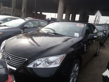 Super Clean Foreign used Lexus ES350 2009 Black