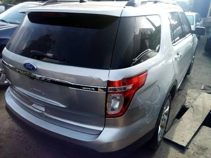 Used grey/silver 2012 Ford Explorer automatic for sale at price ₦6,580,000
